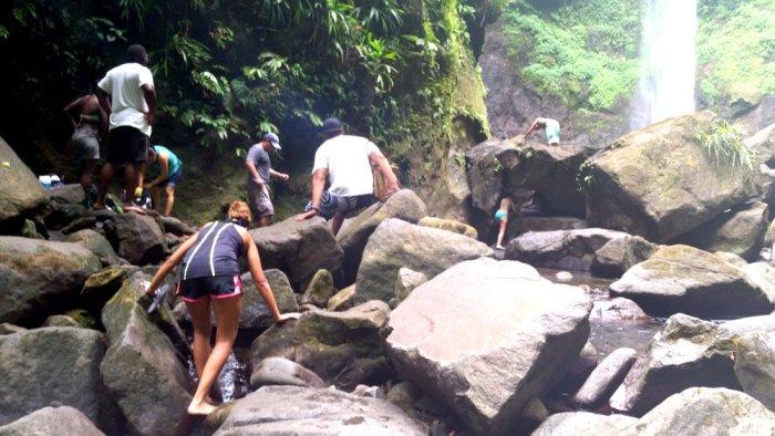 Sari Sari Falls, Dominica