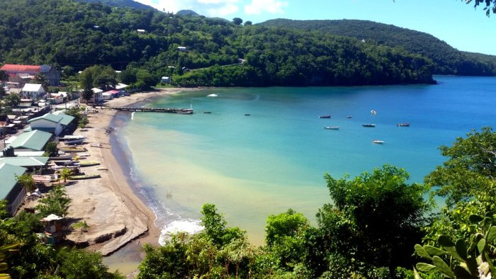 Anse La Raye, St Lucia, fishing village