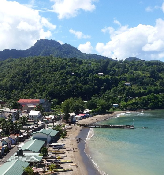 Anse La raye, St Lucia