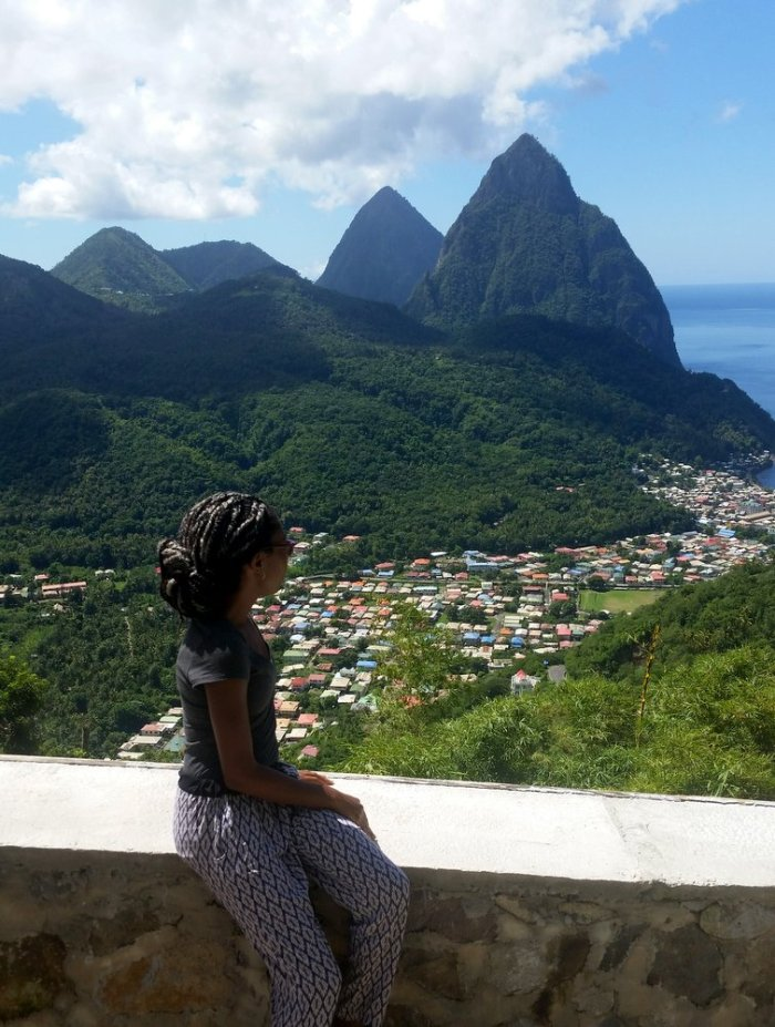 Pitons, St Lucia, Soufriere