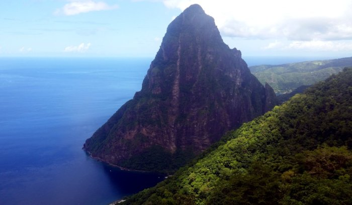Petit Piton, Pitons, St Lucia