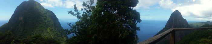 Gros Piton, Petit Piton, Piton Heights, St Lucia