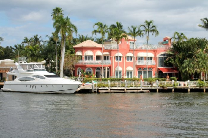 Millionaires' Row, Fort Lauderdale, New River, Intracoastal Waterway