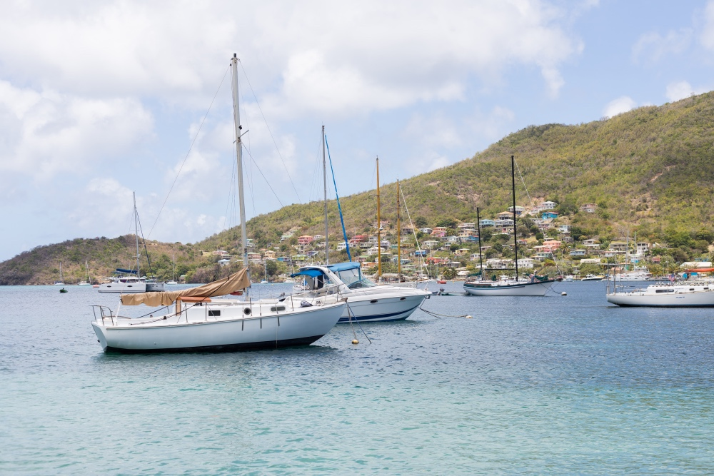 Bequia, Grenadines, boats