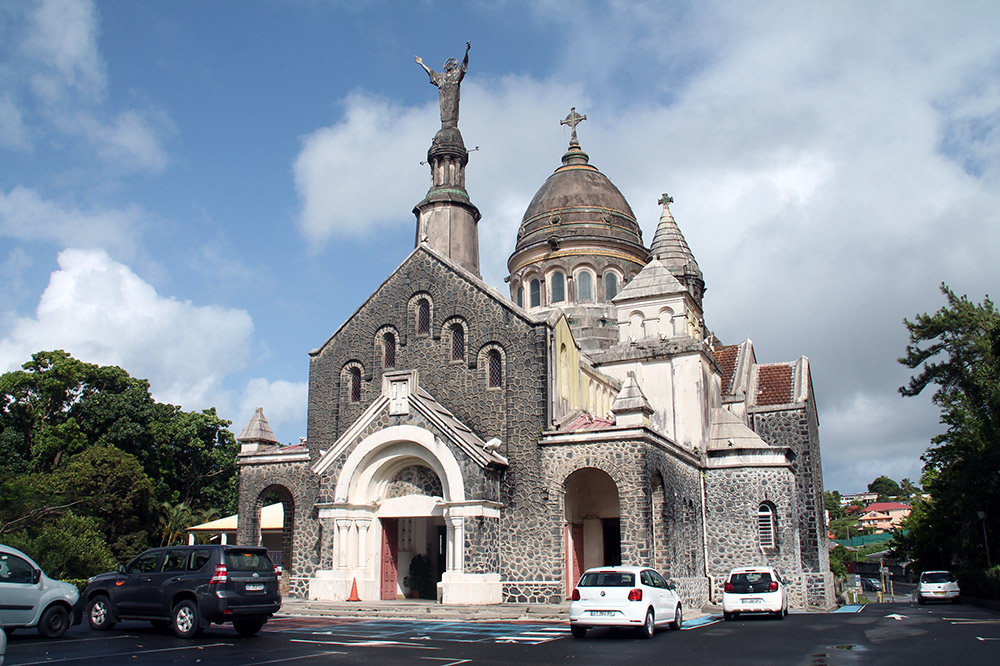 basilica balata, martinique
